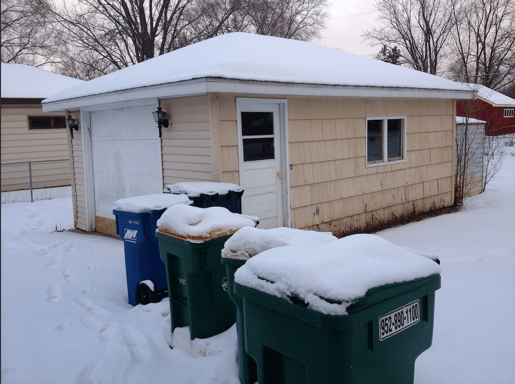 Replaced 1 Car Garage With A 2 Car Garage Bloomington Mn